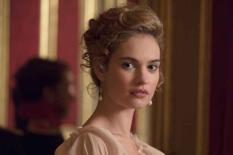 Lily James (24)