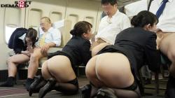 【またがりオマ○コ航空9 中出し便】のアダルト天国を見る