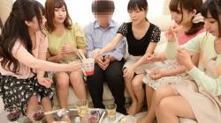 【町内会の若妻の集まりで男はボク1人だけの王様ゲーム2】のアダルト天国を見る
