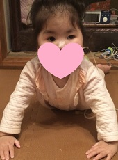 胃ろうオペ前2歳6か月うつぶせあおい - コピー