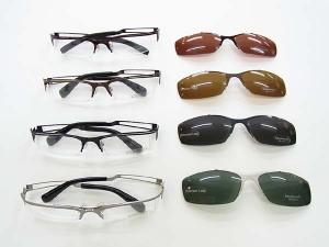 これが正解だったんですっ!!!そうです!クリップオン式の眼鏡?サングラス?いやいや両方の機能を持つ完璧な一本☆一本二役です!!!