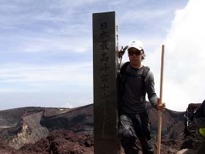 日本最高峰の山での貴重な???写真です☆合成写真じゃありませんよ!!!.富士山