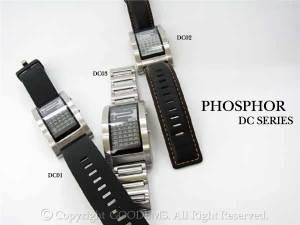 Phosphor(フォスファー)のカレンダー表示機能搭載の電子ペーパー&電子インク腕時計がこいつです☆荒川時計店 静岡