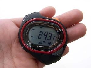 時刻表示はこんな感じです♪見易いですよね???今何時かがパッと見で分かる☆