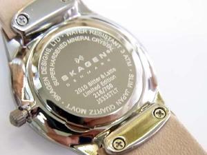 J533STLTが日本限定の証でもあるシリアルナンバーも今回は特別お見せしちゃう☆ 荒川時計店 SKAGEN スカーゲン 正規品