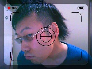 MP-744特有のアンダーリムがみてとれますね♪なかなかの存在感♪ KAZUO KAWASAKI アラカワ時計店