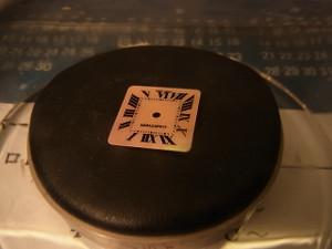 カルティエのシェル文字盤の美しい女性用腕時計☆綺麗に直させていただいています!♪