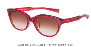 こんな挑戦的なレッド系のサングラスで遊ぶのもGOODです☆F-02AP♪