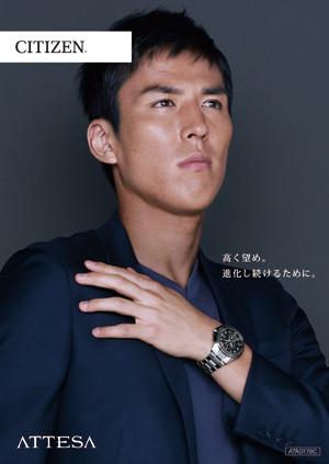 サッカー日本代表『長谷部誠選手』広告宣伝モデル♪