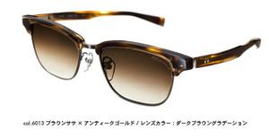 FourNines,Feelsun,F-01MCOL6013 ブラウンササ×アンティークゴールドメタル