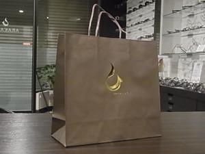 ARAKAWAオリジナルのショップ袋が完成です♪