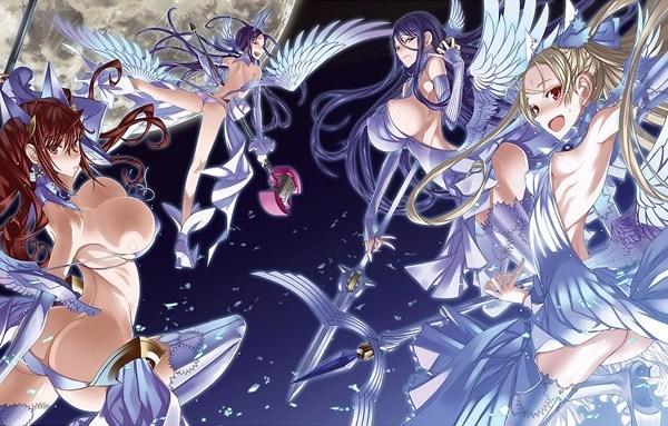【魔法少女hアニメ】絶対純白魔法少女BD~戦いよりもエッチが好き~