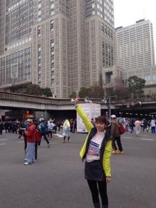 加藤多佳子東京マラソン画像