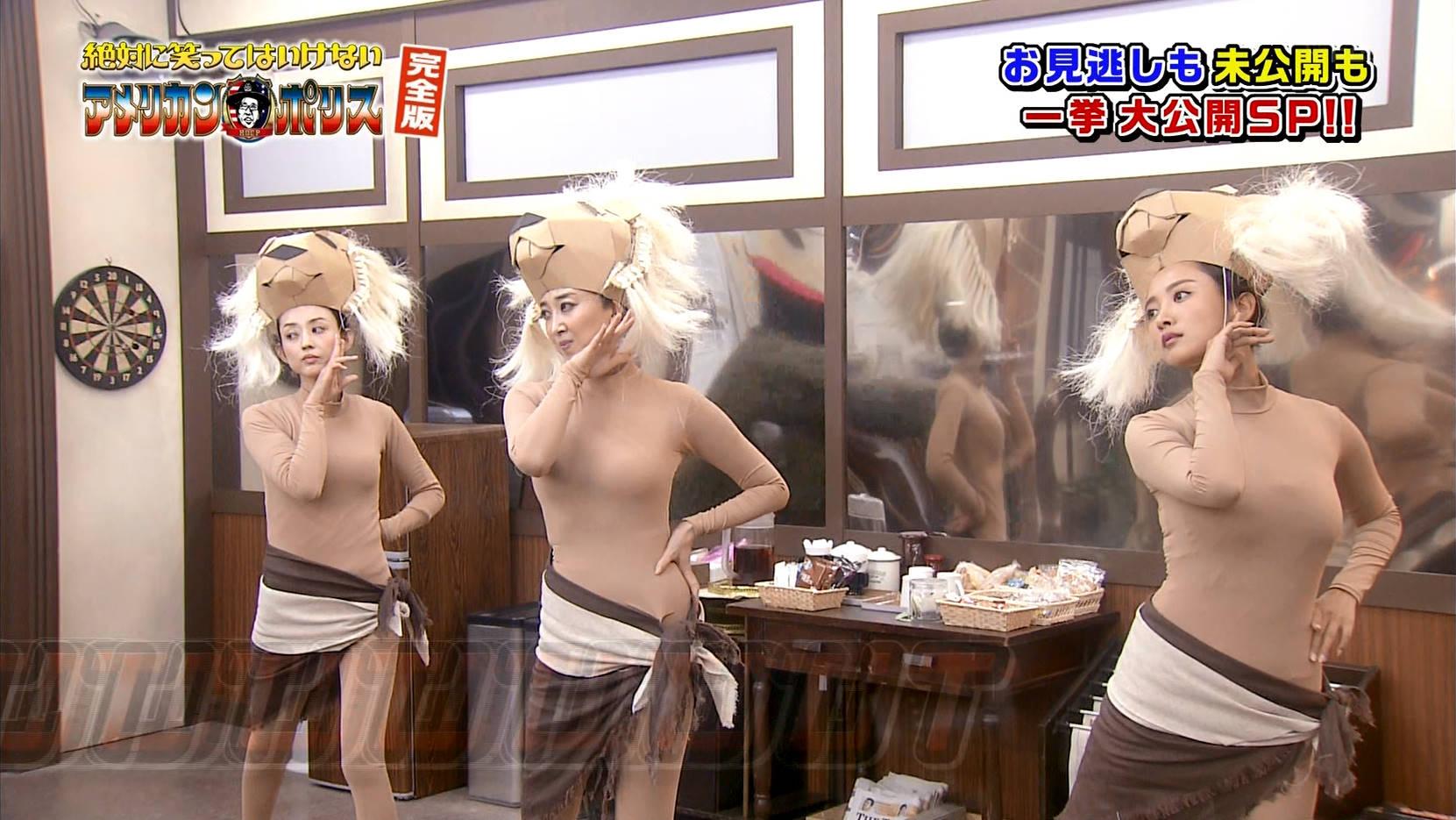 夏菜 全身タイツでお乳を振り回す☆☆wwwwwwwwwwwwwwww