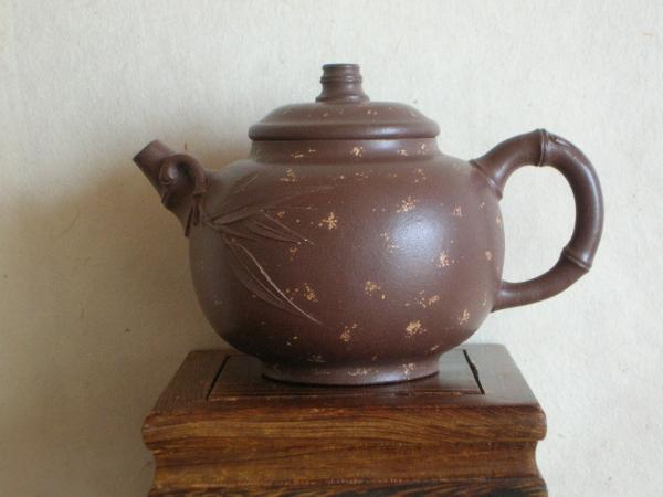 124早期紫泥舗砂壷