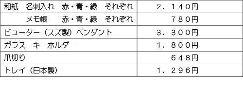 価格表20170501wb