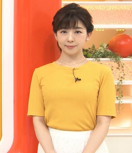 松尾由美子 ニット乳♥