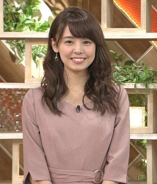 宮澤智アナ 笑顔がかわいい