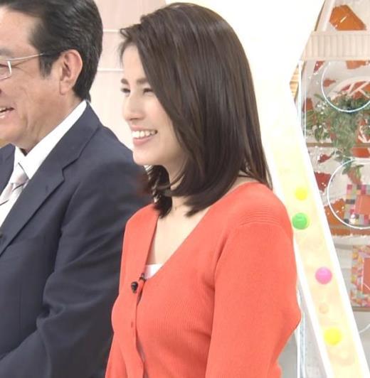 永島優美アナ エロい胸元