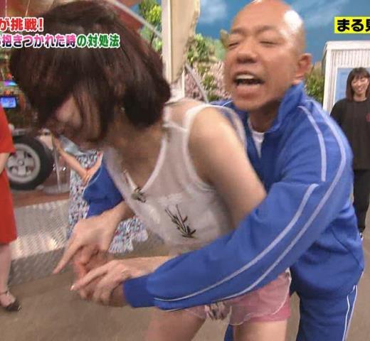 岡田紗佳 バイキング小峠に後ろからおかされる!?