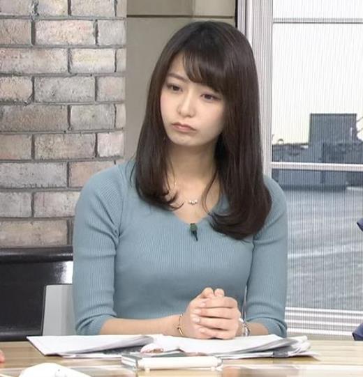 宇垣美里アナ ニット乳●