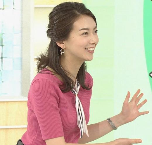 和久田麻由子アナ ニットおっぱいがエロかったよ