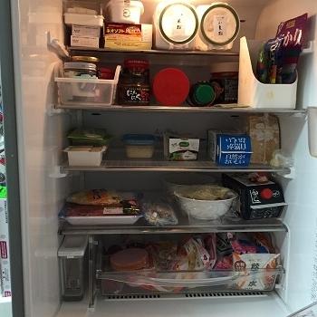 0423冷蔵庫整理整頓後正面
