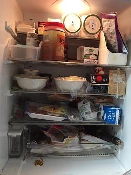 0423冷蔵庫整理整頓前正面