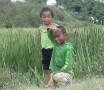 マダガスカルの子供(丸顔)