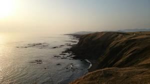 襟裳岬 海岸線