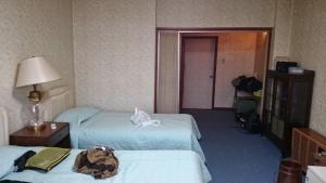 柳田旅館 ツインベッド洋室