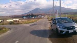 富良野山麓。