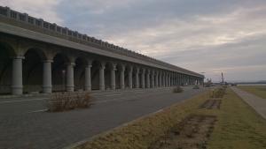稚内北港防波堤。