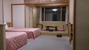 知床プリンスホテル風なみ季、和洋室。