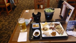 知床プリンスホテル風なみ季、夕食バイキング2