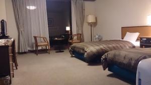 十勝幕別温泉グランビリオホテル、ツインベッドルーム