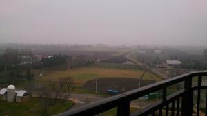 十勝幕別温泉グランビリオホテル、部屋からの眺望