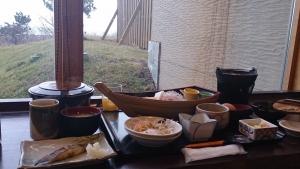 みついし昆布温泉 蔵三、豪華な朝食