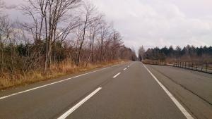国道276号線。