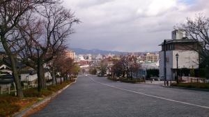 函館市内 坂道