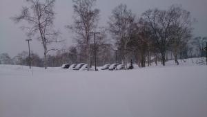 ニセコ 雪の朝1