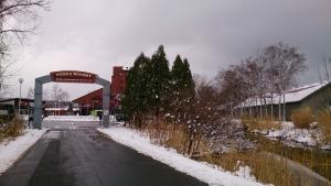 余市ニッカウィスキー蒸溜所。