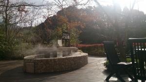 霧島観光ホテル、足湯スペース