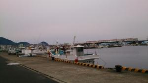 枕崎漁港。