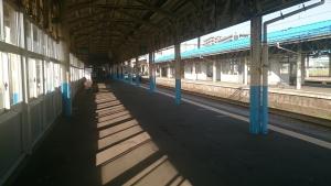 直江津駅。
