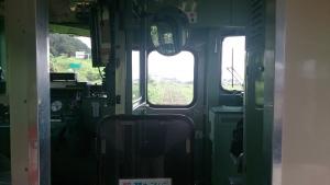 東能代発深浦行き普通列車