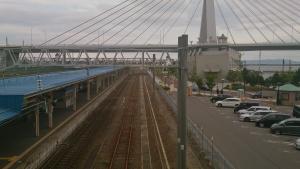 JR青森駅。