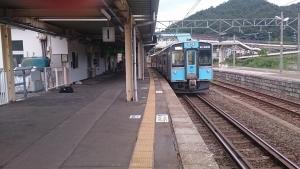 浅虫温泉駅。