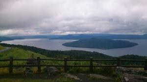 美幌峠から屈斜路湖を眺める1
