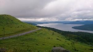 美幌峠から屈斜路湖を眺める2